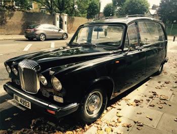 Vehicles-Classic Daimler Hearse