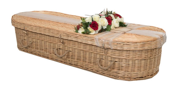Coffins - Natural Oval Willow