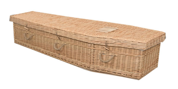 Coffins - Natural Simple Willow