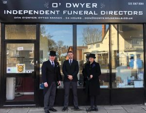 About O'Dwyer Funeral Directors Ealing West London