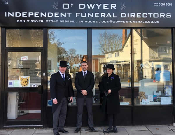 O'Dwyer Funeral Directors - The Team